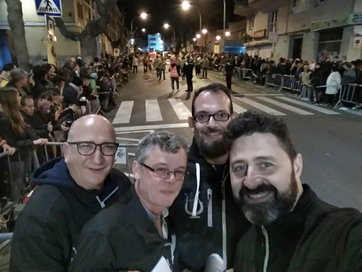 Ahir amb els companys #carrossaires de #ElRetiro al Carnaval de Les Roquetes @santperederibes  Moltes gràcies per l´acollida @abigailgarrido ailgarrido  i enhorabona per la rua !