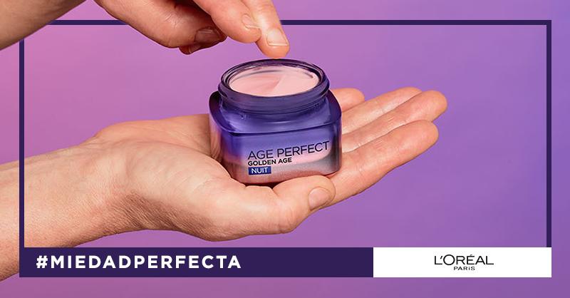 [NEW] ¡Devuelve el tono rosado a tu piel en un solo gesto! Descubre Golden Age de Age Perfect. #MiEdadPerfecta