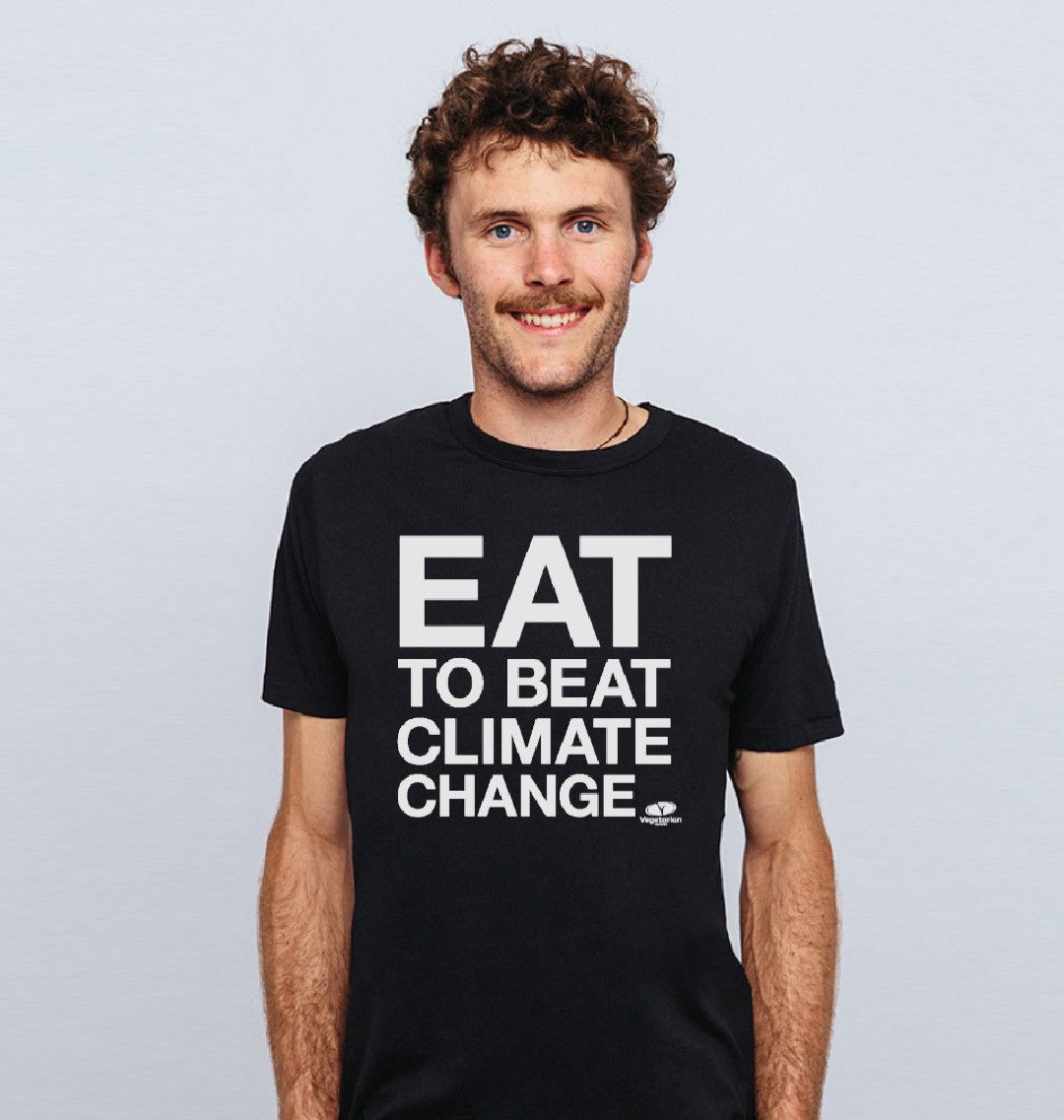 Did you know that our #EatToBeatClimateChange  t-shirts are designed to be returned once they are worn out? The material will be re-purposed and used again for new products. You'll even get £5 store credit. Buy yours here: