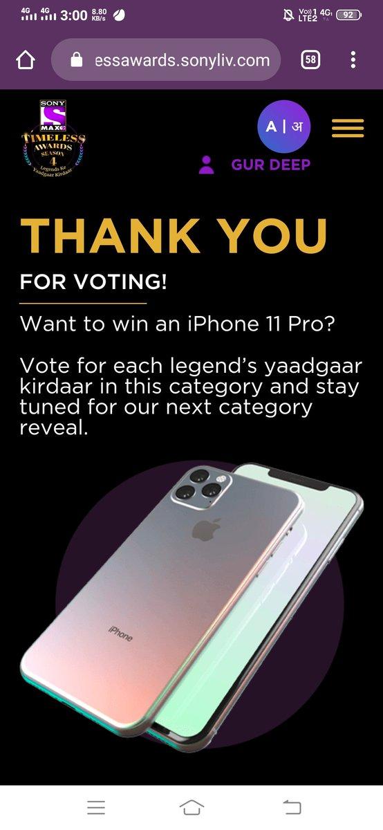 Voting Done Team  Anthony - #ActorAmitabhB2 #MAX2TimelessAwardsS4 Join -  @coolkishore59  @ShagunTomar14  @vc16898  @pratishtha1001  @racerme  @SachinG33833053 @Sappy786