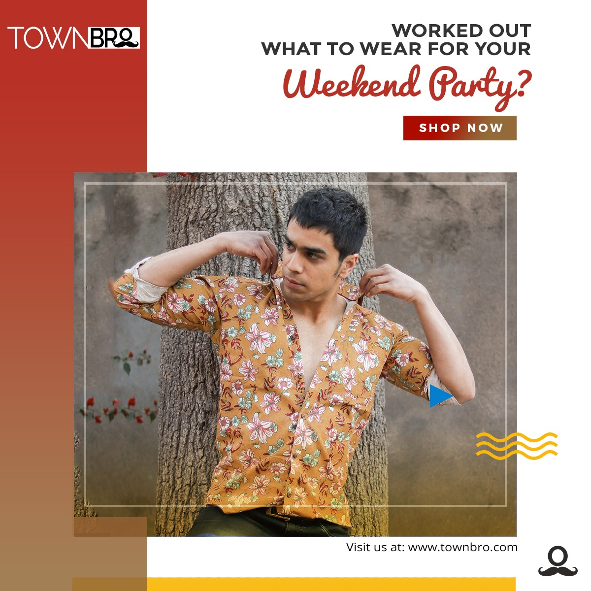 Who needs just another shirt? Bold things are happening this weekend. Grab it here: http://bit.ly/townbro222  #printedshirts #newstockalert #stockalert #mensfashion #indianfashion #townbro #trendingnow #GetTheLook #Instastyle #streetstyle #menswear #udaipur #jodhpur #shirtspic.twitter.com/Nsztm8Dzij