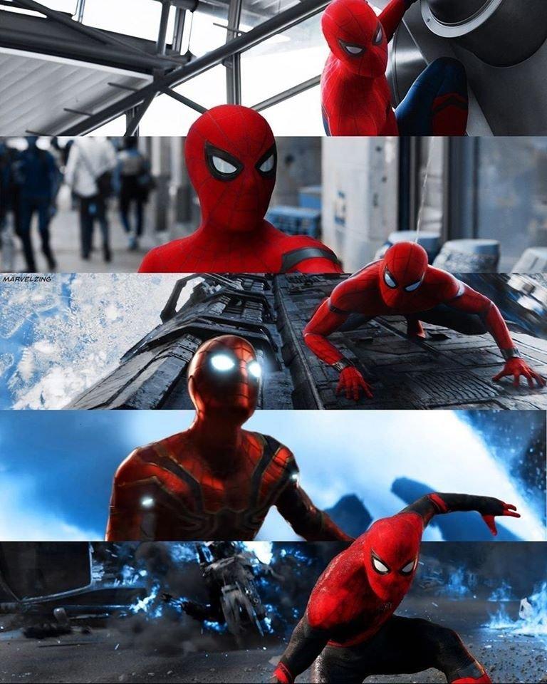 #SpiderMan #AvengersInfinityWar #AvengersEndgame #SpiderManHomecoming #ironspidersuit #Avengerspic.twitter.com/3WHylHHPdl