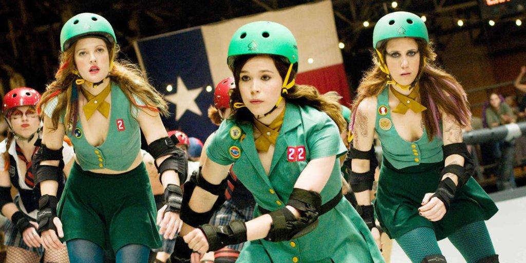Drew Barrymore wird heute 45 Jahre alt. Wir gratulieren!  Film still: Roller Girl (Whip It), 2009pic.twitter.com/GMR1vyOUq4