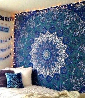 Excited to share the latest addition to my #etsy shop: Bohemian Tapestry Elephant Star Mandala Tapestry Blue Tie Dye Star Design Indian Bedspread Twin Tapestry Hippie Wall Decor Mandala Tapestry  #housewares #homedecor #blue #birthday #christmas