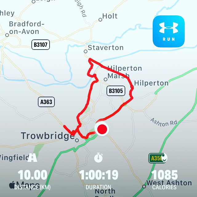 Back out on the pavements, fighting with the wind - think (kind of) I won #run #running #fitness #10kpic.twitter.com/X1l0hkpjjR