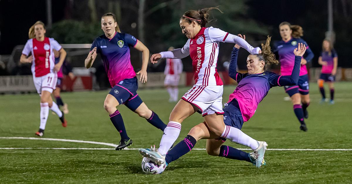 Nieuws: Ajax Vrouwen ook in Eredivisie Cup door late treffer onderuit tegen ADO https://t.co/HY9tOiNuyK #ajax #ajaado https://t.co/6z0b4sItqY