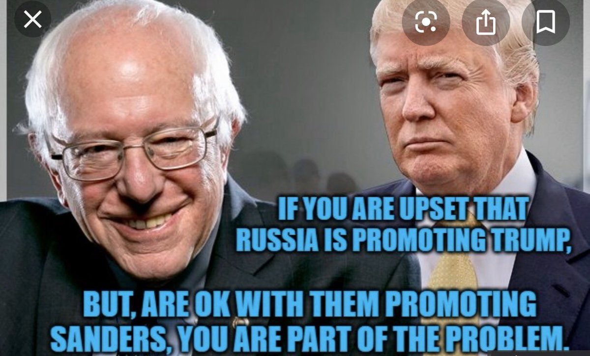 #SaturdayMorning #SaturdayMotivation  #SaturdayThoughts When Bernie Sanders starts Slandering the #DemocraticEstablishment It's Becuz he's an Independent running as a Dem. /& If Dems fail2 deviate from what he likes &wants he cries w/Complaints just like DT🤦🏾♀️