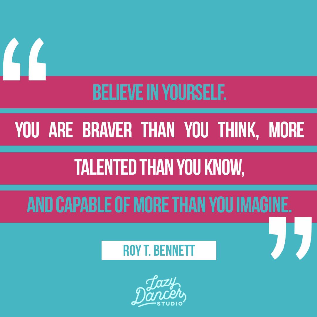 Believe in your abilities. Give yourself a chance to try.  #lazydancertips #lazydancerstudio #adultballetgang #ballet #balletto #dance #balletdancer #Dancingwillmakeithappen #hardwork #balletfitnesspic.twitter.com/pvDDgzFeYV
