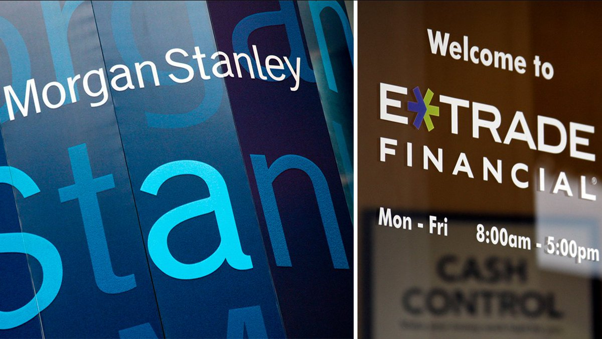 As Industry Consolidation Continues, Morgan Stanley Pays $13 Billion for E*Trade  #ad #wsj #nytimes #business #reuters #forbes #nasdaq #cnn #bet #foxnews #latimes #robbreport #Crainschicago #usatoday #realdonaldtrump #investiingcom #cnnmoneyinvest #ESPN