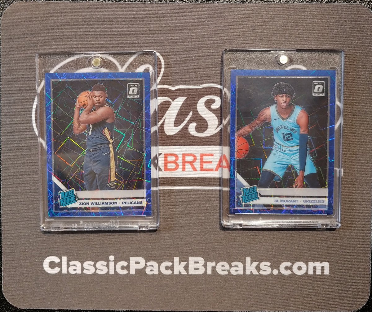 🏀The #FridayNighLights were bright at https://t.co/a2wE8d9bxN last night!! One box, two sweet cards!! Subscribe and join us at https://t.co/nDNw1BcoLF!! #whodoyoucollect #TheHobby #baseballcards #basketballcards @Zionwilliamson @JaMorant #onlinecardshop #classicpackbreaks https://t.co/iL2dZxNXap