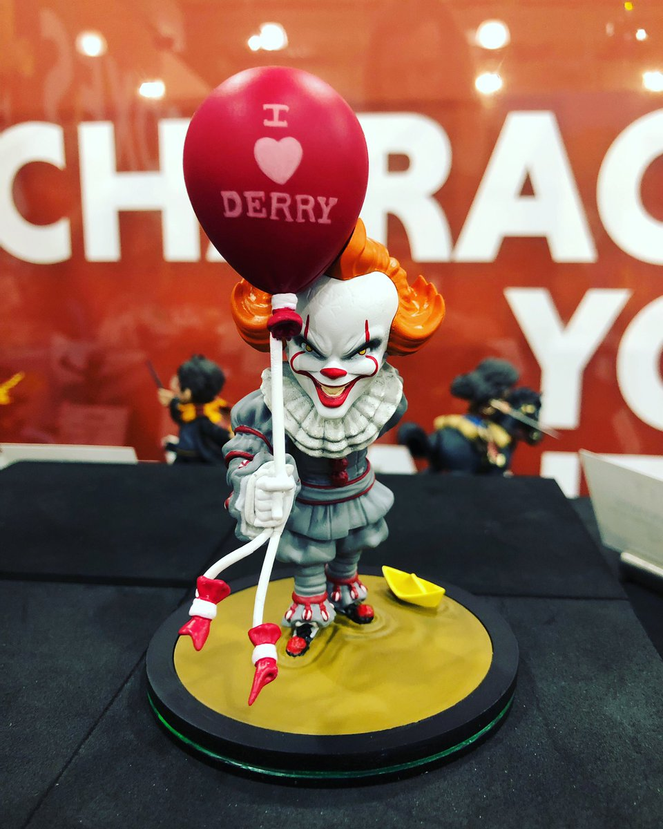 We ♥️ Derry too #Pennywise #ToyFair2020 #ToyFair