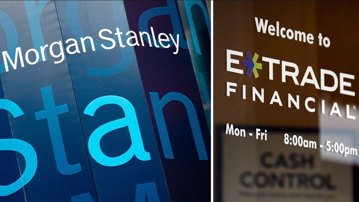Industry Consolidation Continues, Morgan Stanley Pays $13 Billion for E*Trade  #ad #wsj #nytimes #business #reuters #forbes #nasdaq #cnn #bet #foxnews #latimes #usatoday #realdonaldtrump #investiingcom #barronsonline #IBDinvestors #BW #cnnmoneyinvest #ESPN