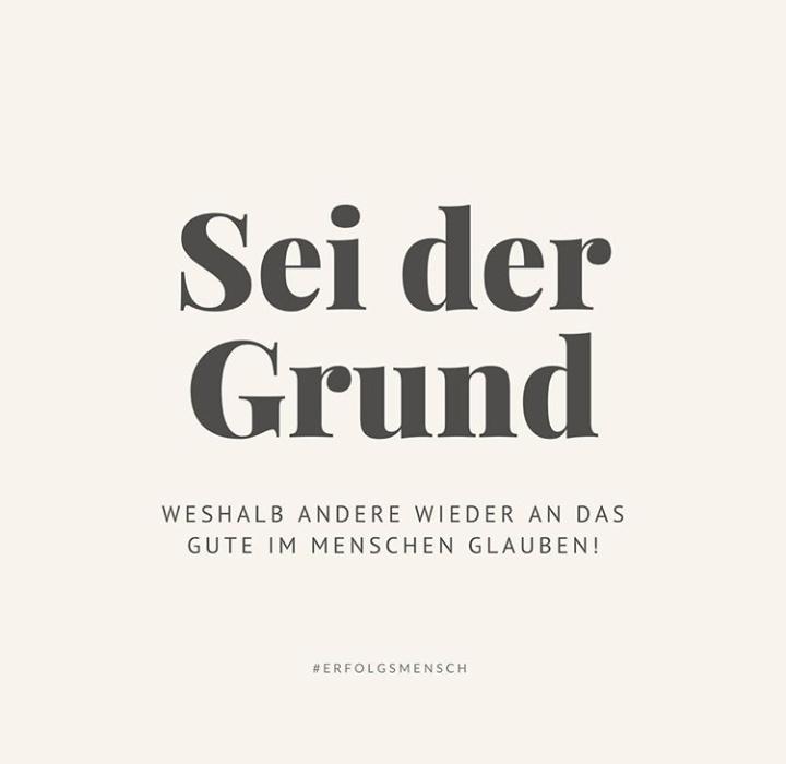 Sei der Grund, weshalb andere wieder an das Gute im Menschen glauben!  #Erfolgsmensch #Motivation #Frieden #Hanau #Thueringenpic.twitter.com/GlnIE7Ebk3