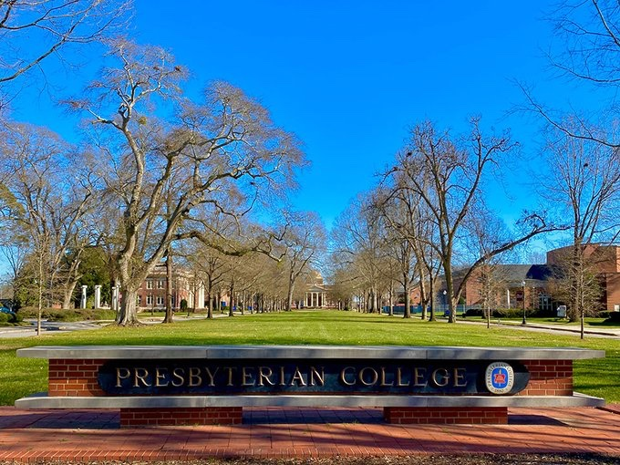 It's a beautiful Saturday on the campus of @presbycollege located in Clinton SC! This college is one of the finest in the southeast! #bestoftheday #beautiful