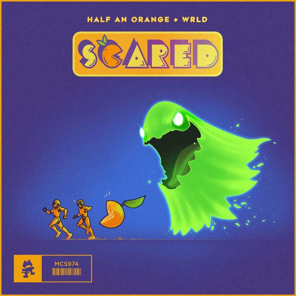 Приближается свежевыжатая композиция от наших любимых исполнителей. 24 марта на @Monstercat: Instinct!  @HalfanOrange & @WRLDmusic - Scared  #HalfanOrange #WRLD  #News