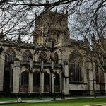 Image for the Tweet beginning: This is Bristol Cathedral. I