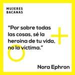 Image for the Tweet beginning: #CitasMujeresBacanasEscritora, guionista y directora, Nora