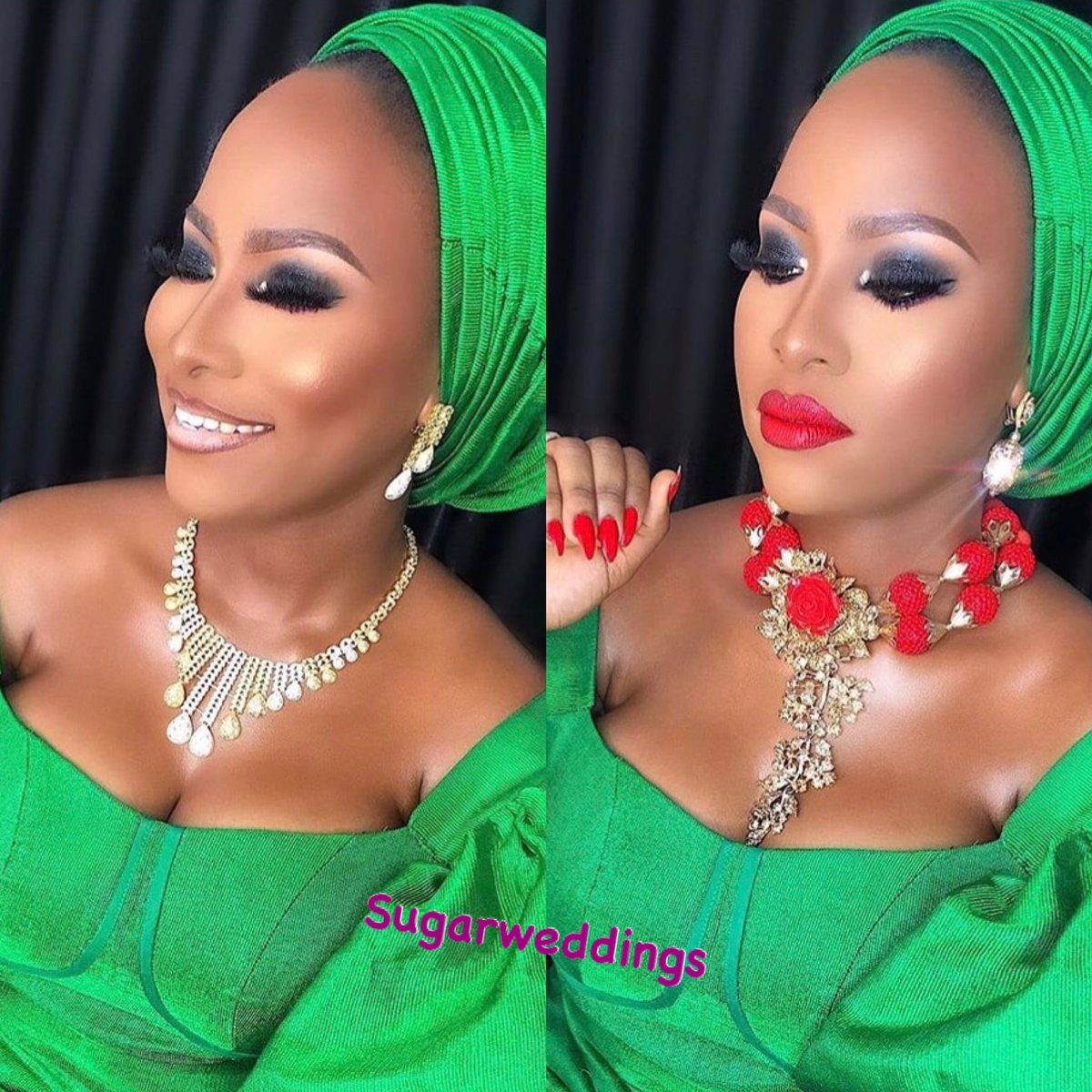 Team Nude or Red? . . Makeup: @dstrandz  #weddingmakeup #weddingmoments #weddingvibes #dailyweddinginspiration #weddinginnigeriapic.twitter.com/GjlZ5QwLJx