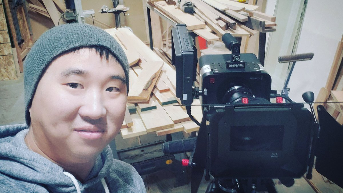 Getting ready to film. New movie From Rags to Riches! @Blackmagic_News #actorslife #asianactor #actionmoviestar #asianaf #directing #filmmaking #fightchoreography #actionmoviestar #filmmaking #asianaf #stuntlife #stuntman #asianlife #director #koreandirector #koreanactor #stuntspic.twitter.com/5FEfpew5es