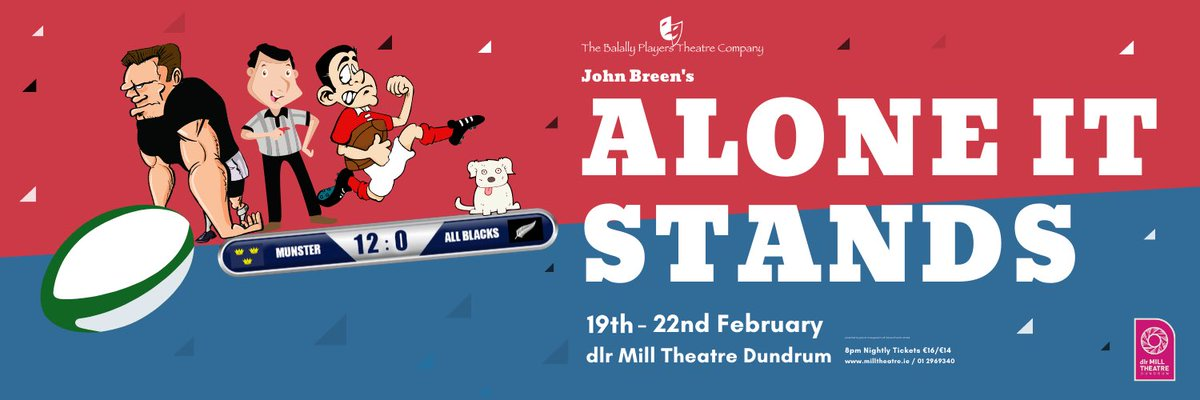 Looking for Saturday night plans? Catch Elaine Burgess from Fraser in Alone It Stands, tonight in the @MillTheatre 🤩 #fraser #actor #saturdaynight #plans #aloneitstands #milltheatre