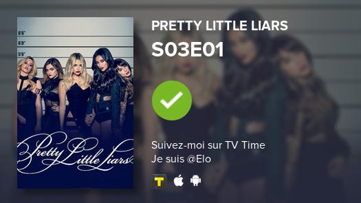 Je viens de regarder episode S03E01 de Pretty Little Li...! #PLL  #tvtime https://tvtime.com/r/1hM3N