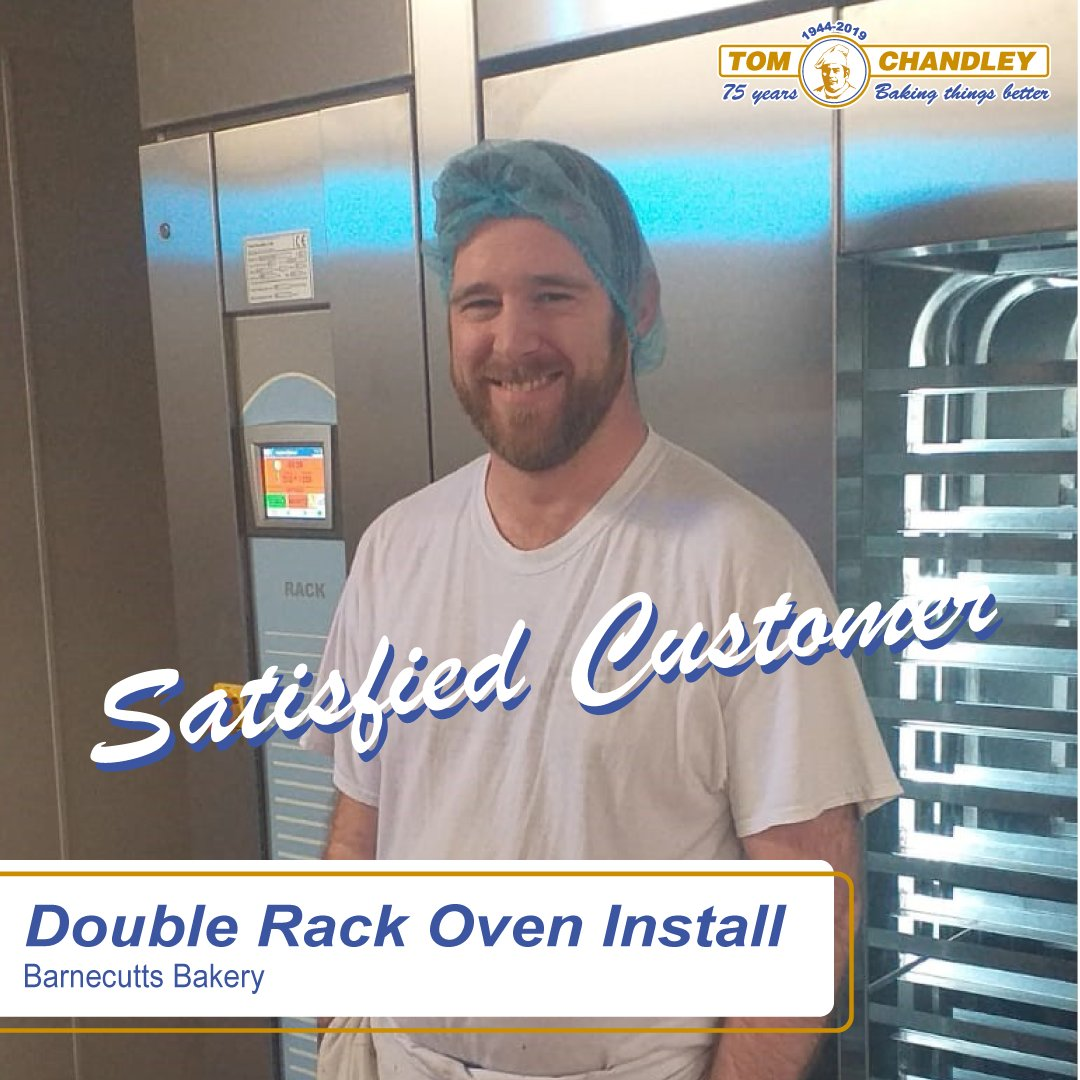 At Tom Chandley Ovens, we guarantee customer satisfaction, just look at the smile on his face 😁 #oven #ovens #install #pizzaoven #pizza #snacking #equipment #food #cook #bread #distributor #baking #buybritish #bakeryequipment #bakeryoven #UKmfg #MadeinGreatBritain