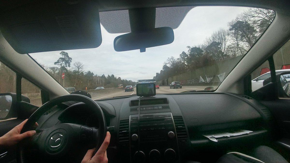 Noch wenige Kilometer bis #Hanau und bis wir mit unserer #live Berichterstattung beginnen. #noafd #NazisRaus #Antifa