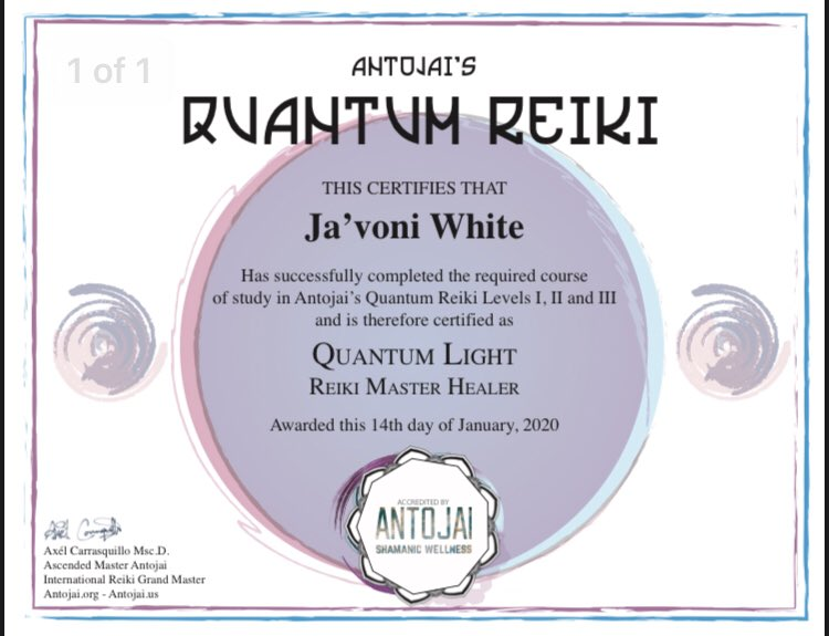 I just gotta print it out then frame it. #ReikiMaster #Reiki #QuantumReiki #AntojaiReiki #Energypic.twitter.com/Z0VrW9Q72W