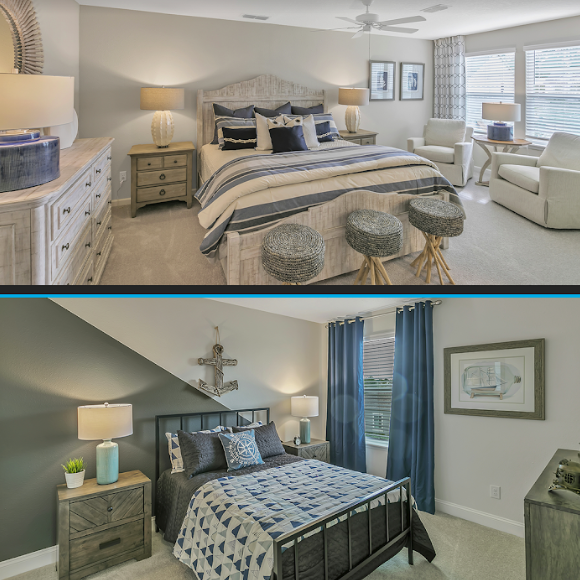 Which guest room is more your style?  A. Islamorada at Pottsburg Pointe:   B. Liberty at Shearwater:   Make your selection in the comments below!  #bestoftheday #picoftheday #love #inspiration #lifestyle #lennar #dreamhome