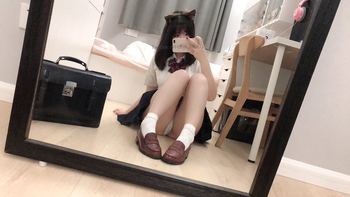 コスプレイヤー一只废喵のTwitter自撮りエロ画像35