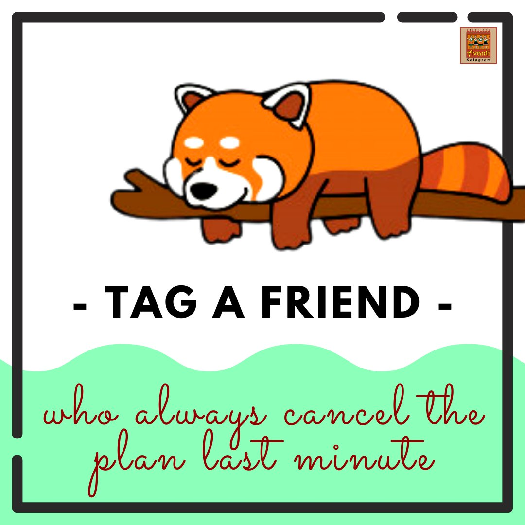 We're sure there is one spoilsport friend in every group who cancels the plan last minute!  Tag that spoiler guy... https://t.co/4ISbI1qqcq . . #avantikalagram #mulshi #pune #friends #friendsforever #bff #friendsforlife #containerhotel #tentstay #naturevibes #nature https://t.co/juE2gskyyi