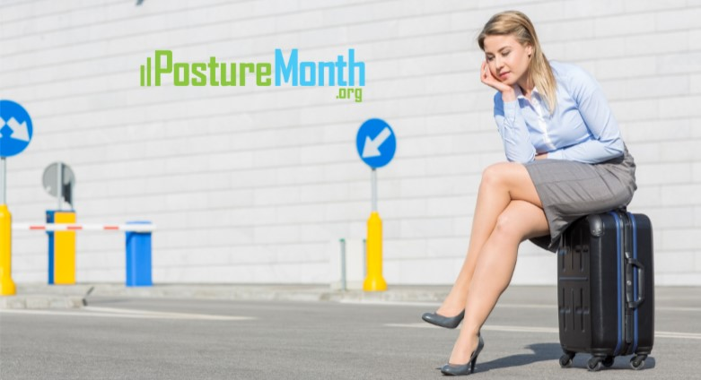 Tip 20 Travel Posture - Heres how to handle challenging travel environments |  http://PostureMonth.org    http://PostureMonth.org   #traveling  #BackPain