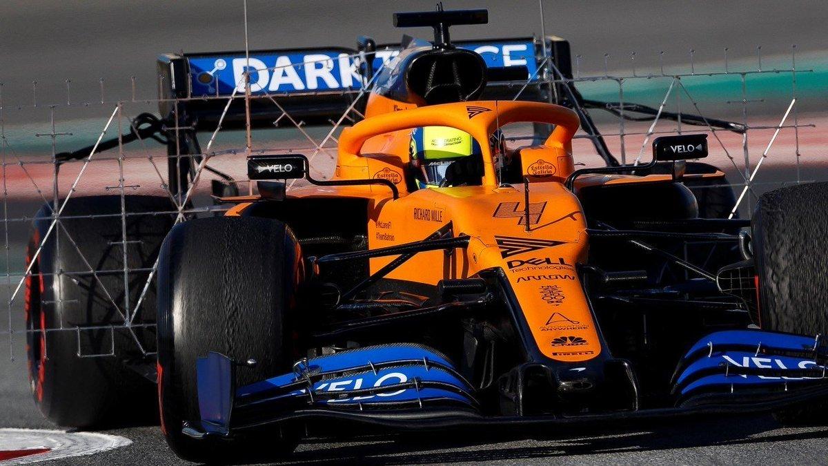 #F1 | McLaren comienza a evolucionar su MCL35.  ➡ http://bit.ly/2vXbRbG  #Fórmula1 #McLaren #MCL35 #TestF1 #PretemporadaF1 #TécnicaF1 @McLarenF1
