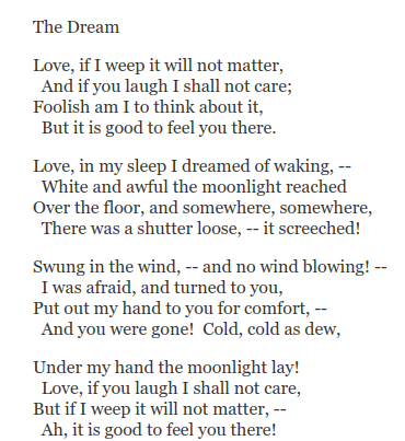 """Edna St. Vincent Millay born #otd in 1892. American poet, playwright, and Pulitzer Prize winner. """"The Dream"""" , my favorite of her many poems...  #OnThisDate #LiteraryBirthdays #Poets #Poetry #EdnaStVincentMillaypic.twitter.com/EjxAXde4Bf"""