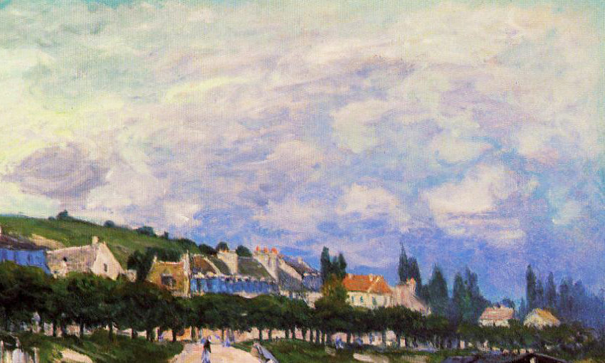 Alfred Sisley (30 October 1839 – 29 January 1899) was an Impressionist landscape painter who was born and spent most of his life in France, but retained British citizenship. <br>http://pic.twitter.com/3PBqEmwr1P