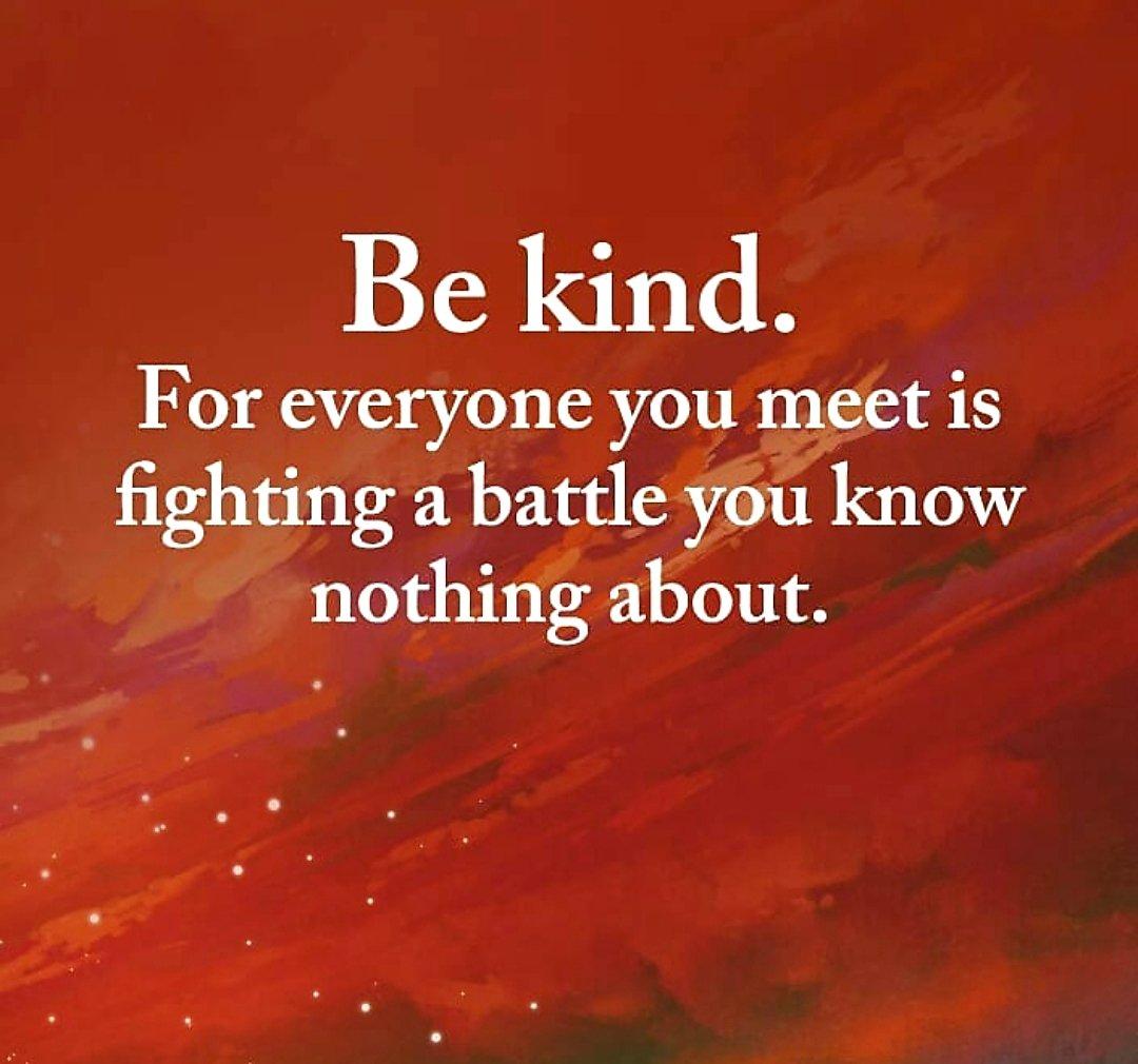 #bekind #bekindalways #SpreadLovePositivity #PositiveMentalAttitude #SaturdayThoughtspic.twitter.com/IASTLQ5aHV