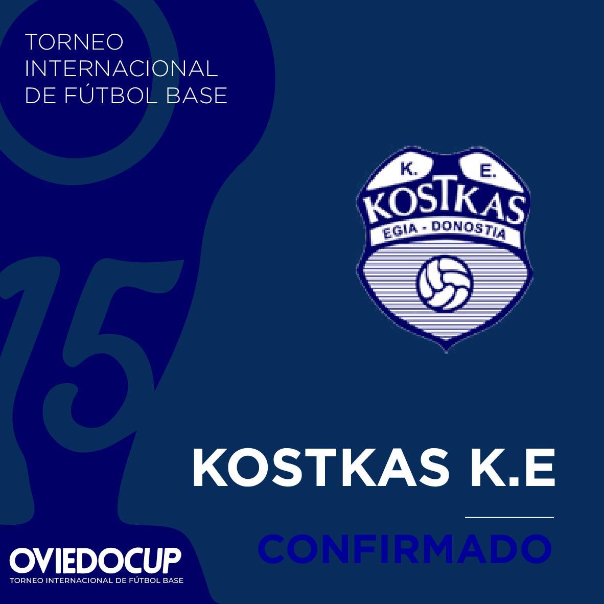   EQUIPO CONFIRMADO  ¡¡Celebramos que el club vasco estará presente en la #OviedoCup2020!! @kostkas_ke  #TorneoInternacional #FútboBase #OviedoCup #XVEdición #SemanaSantapic.twitter.com/rb6eX5ep5E