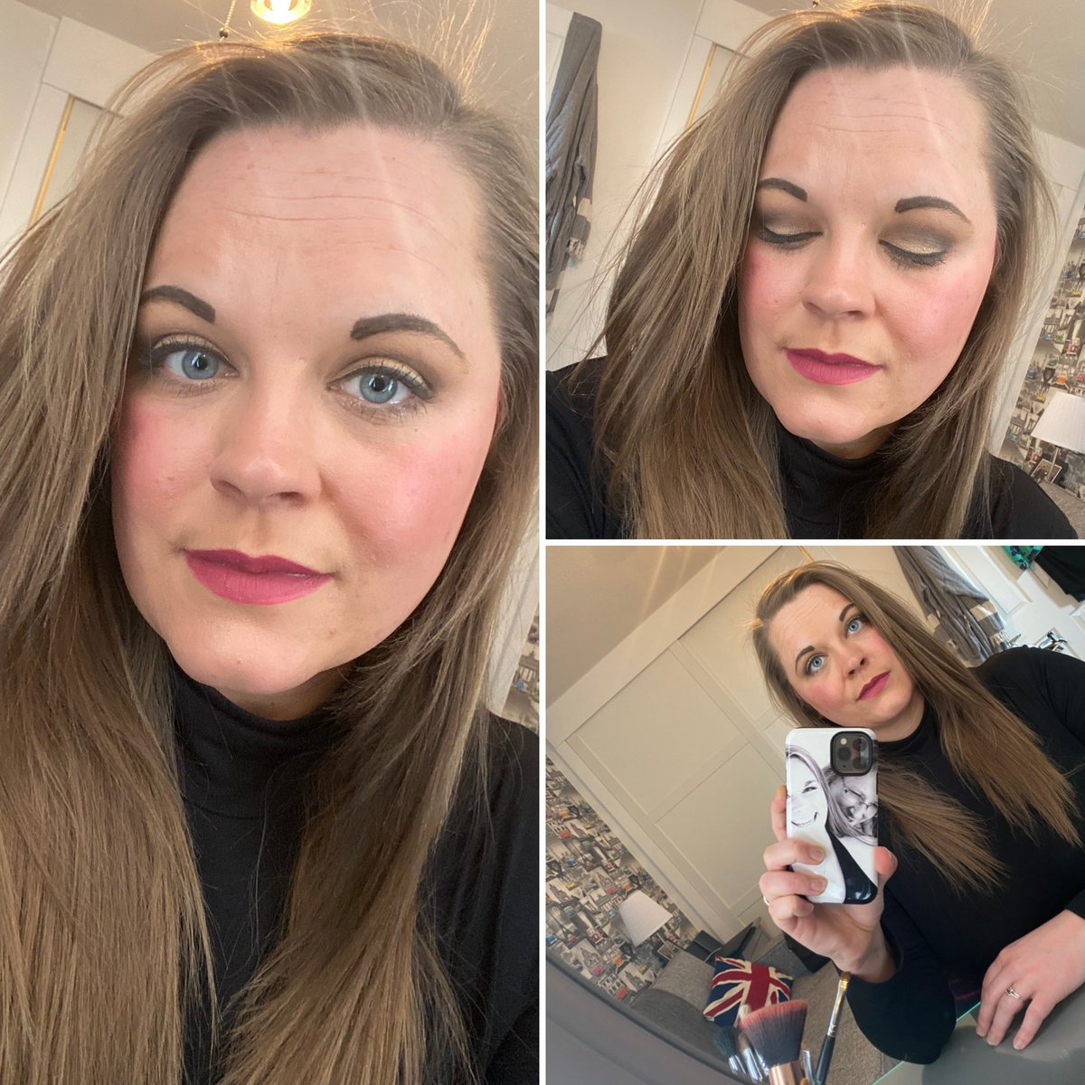 Love having the time on a Saturday to have a makeup play .  #makeuplook #makeuplove #makeupbyme #makeupart #makeuplovers #makeuplife #makeupoftheday #makeuplooks #makeuplover #makeuptalk #makeupgeek #makeupobsessed #makeuptutorial #makeuponpoint #makeupaddict #makeuptipspic.twitter.com/SiBG5V9ghD