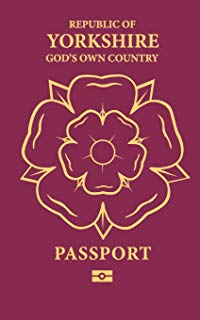 Nevermind this #bluepassport and #maroonpassport business.   I own the ultimate travel document. #GodsOwnCountry #Yorkshirepic.twitter.com/HWtJeHoWrc