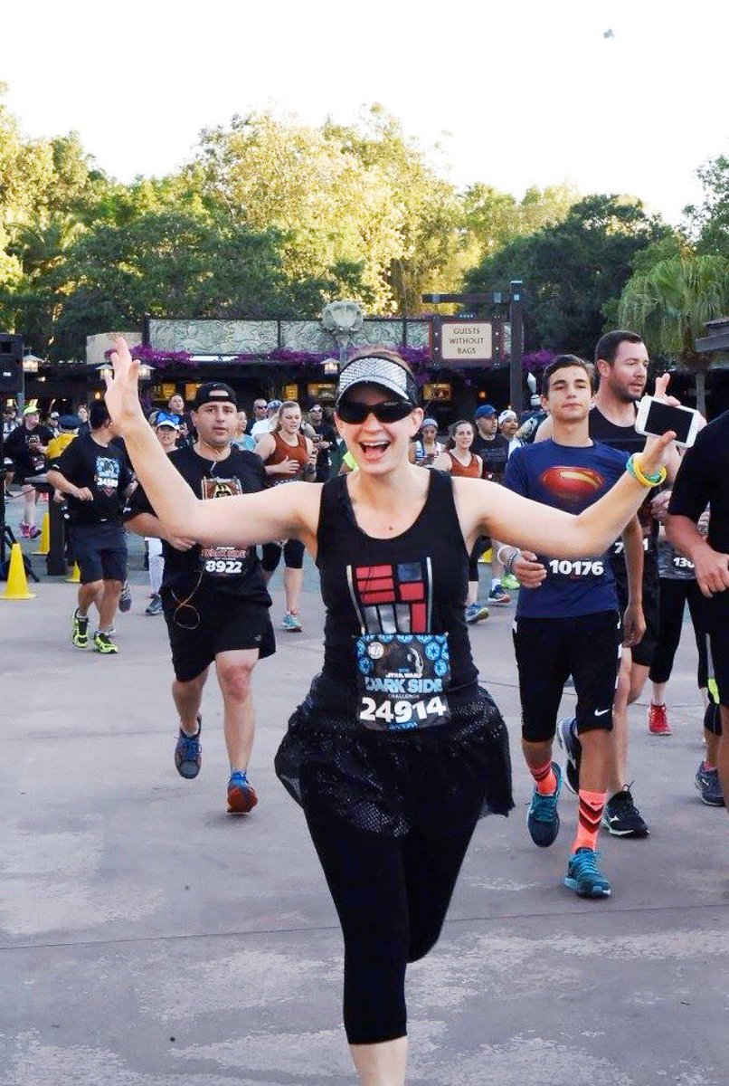 Screw it, you only live once right?!?  I just registered for the @rundisney Star Wars Kessel Run Challenge (half marathon in Disney+virtual half marathon)!!!  Flight and resort are booked and I am SOOOO excited!!!!   Who else will be there?!? #rundisney #teamsparkle #teamnuun<br>http://pic.twitter.com/9H76qXtbF5