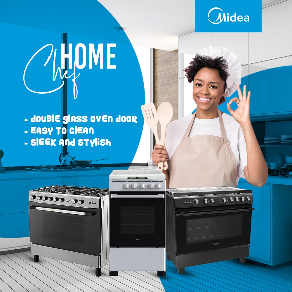 Tell us more features your gas cooker must have. We have them matched already . #MideaMyFamily #electronics #HomeAppliances #modern #lifestyle #lagos #naija #technology #homedecor #nigeria #cool #madeinnigeria #lekki #bellanaijawedding #explore #explorepage #valentinepic.twitter.com/2c2iiVNOx6