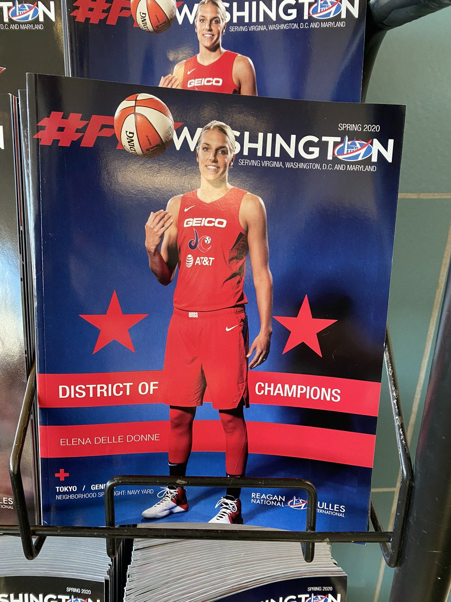 Spotted at @Reagan_Airport on my way to Newark this morning. @De11eDonne looking like a champ! #DistrictOfChampions #TogetherDC #RaiseTheGame #BeMonumental @WashMystics @MSE https://t.co/qdqInWLh4L