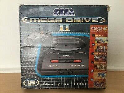 Sega megadrive 2 boxed console. Complete and working with 6 games and controller http://dlvr.it/RQXcMnpic.twitter.com/g3oav2JNg9