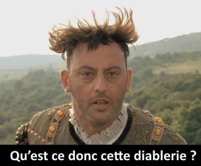 """Gaspard Glanz sur Twitter : """"Mais qu'est ce donc cette diablerie ?! Tu  manges de la Coriandre sans me le dire, c'est ça ?… """""""