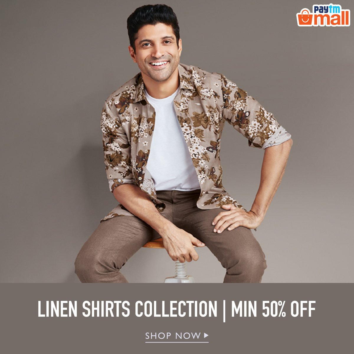 Linen Shirts can never go out of fashion and we are good with it. Own this linen shirt at minimum 50% OFF from Paytm Mall now!!   Follow the link:   #fashion #bestoftheday #2020 #followus #followformore #PaytmMall
