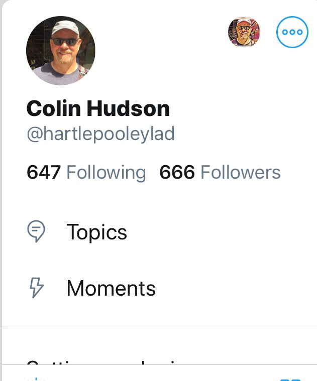 Wow I've got 666 followers that's a #Devil of a number.