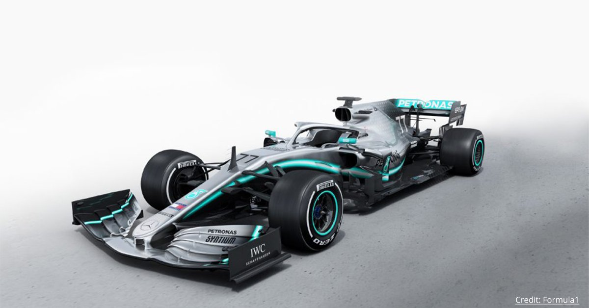 With a newly designed sidepod and an adventurous suspension layout, will @MercedesBenz's 2020 F1 car lead the team to win their seventh consecutive championship?  Find out more here > https://f1.com/31VABwX   #Formula1 #Motorsport