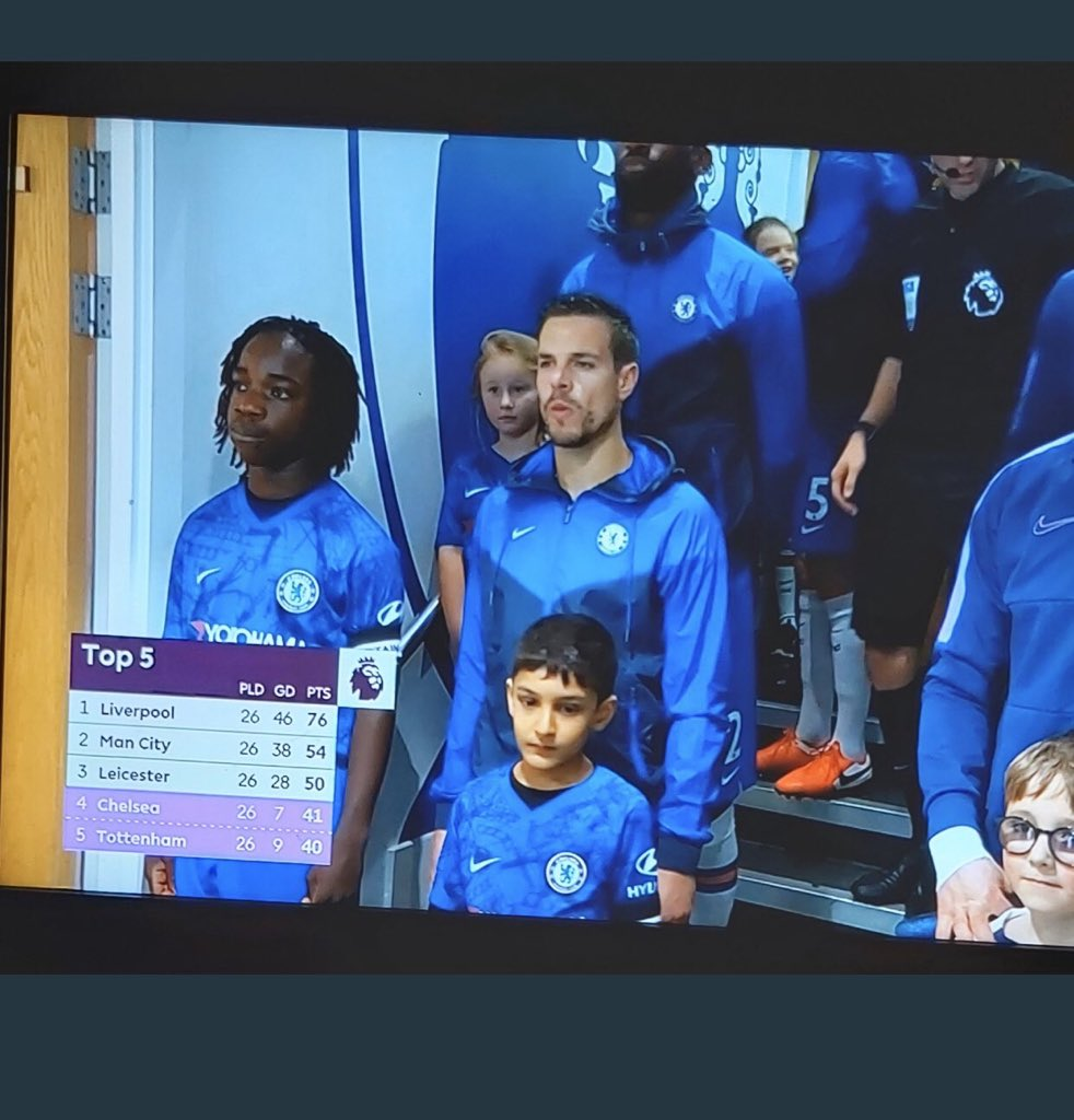 Small top 4 battle, Chelsea go carry Naira Marley #CHETOTpic.twitter.com/enELrR5MwQ