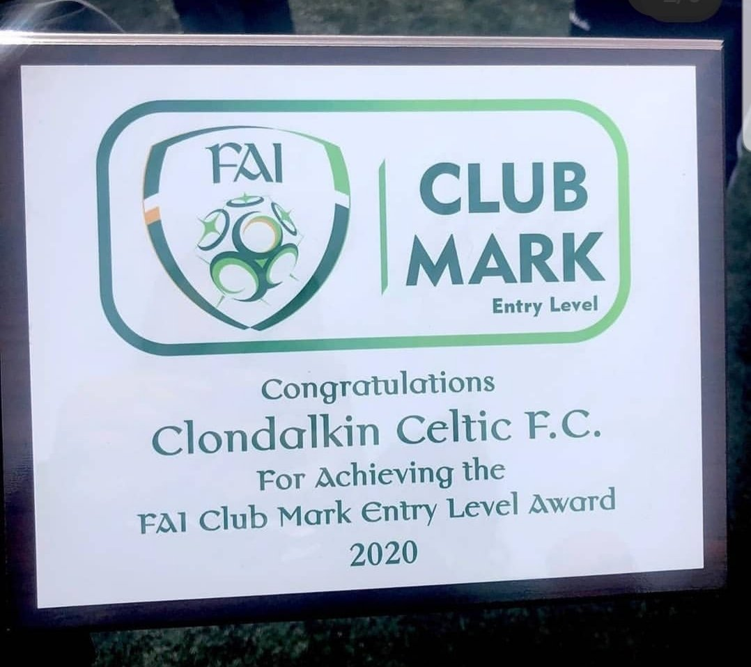 👏 Massive congratulations to @clondalkincelt who became just the 28th club across the entire country to achieve @FAIreland Club Mark Award. Well done to everyone in the club & particularly all involved in the process #FAI #SDCC ⚽️⚽️