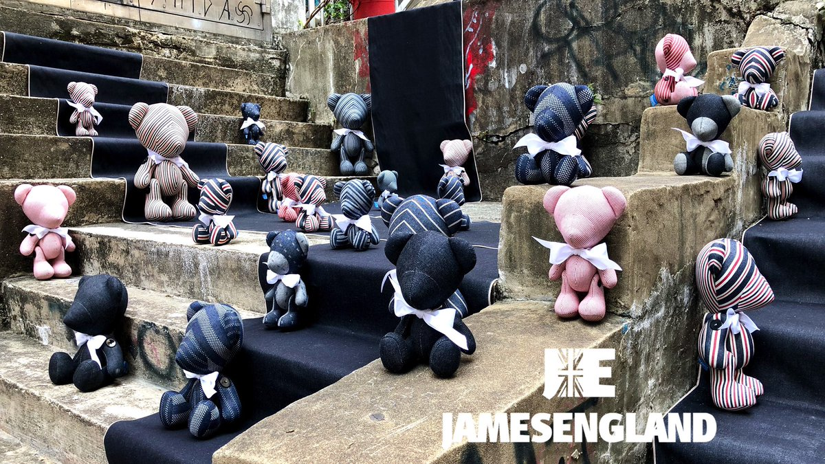 PRE ORDER NOW AT THE WHOLESALE PRICE ON #KICKSTARTER (ONLY UNTIL THE 8TH MARCH) JAMES ENGLAND SERIES ONE 1963 #LIMITEDEDITION #HANDMADE IN #HONGKONG. #LUXURY #FASHION MEETS THE #ARTTOY    #teddybear #cool #style #kaws #kidrobot #dunny #stieff #bearbrick